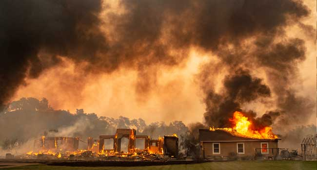 Power Cuts Expected As California Wildfires Rage