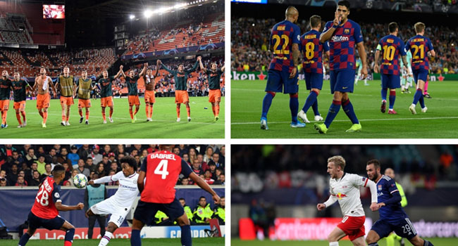 UEFA Champions League Results – Collated