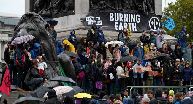 130 Climate Protesters Arrested In Amsterdam