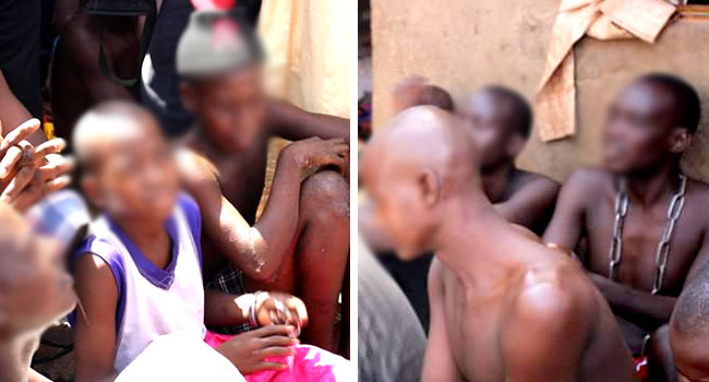 Nigerian police raid frees scores of beaten, starved boys