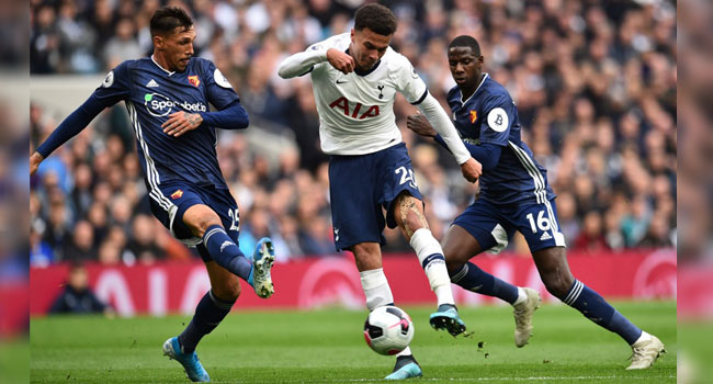 Alli Saves Spurs From Another Defeat To Bottom Club Watford