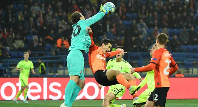 Champions League Dinamo Zagreb Hold Shakhtar To Draw In Ukraine Channels Television