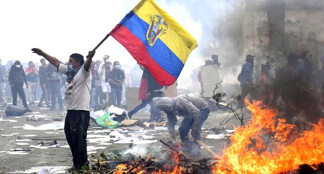 Ecuador Govt, Protesters Agree To End Violent Protests