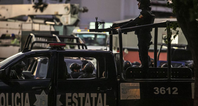 Mexico Says Son Of Drug Kingpin 'El Chapo' Arrested