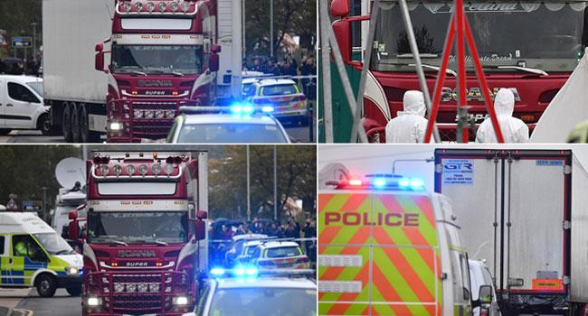 Horror In Britain As 39 Found Dead In Truck