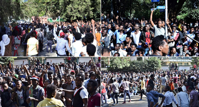 67 Killed In Anti-Abiy Protests, Ethnic Violence In Ethiopia