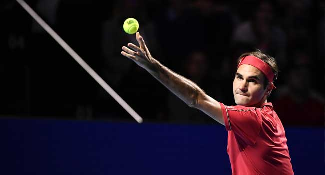 Nine-Time Champion Federer Reaches 15th Swiss Indoors Final