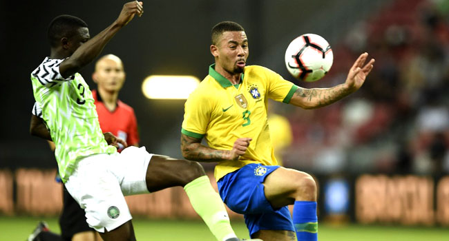 Injury Rules Out Brazil's Jesus From World Cup Qualifiers