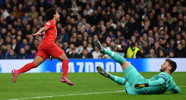 Bayern Munich Hammer Tottenham 7-2 In Champions League