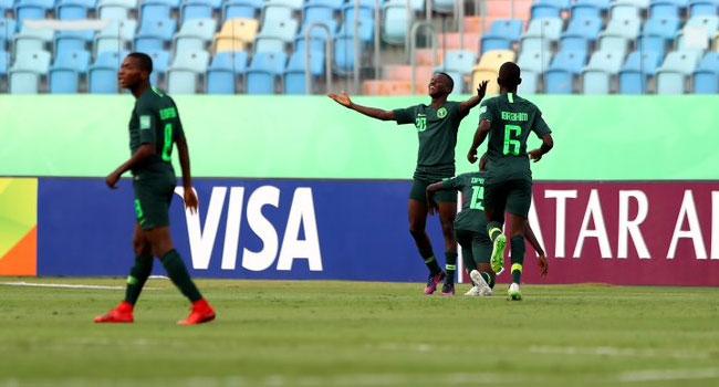 Nigeria's Golden Eaglets Fight Back To Beat Ecuador
