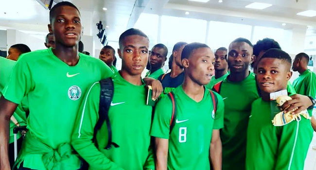 Golden Eaglets Land In Gioania, Set For World Cup Action