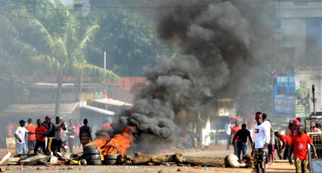 Four Feared Dead As Guinea Protesters Clash With Police