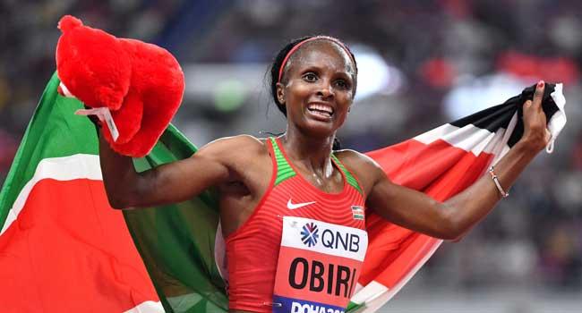 Obiri Retains Women's 5,000 Metres Title