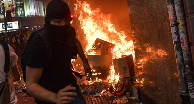 China Sanctions US, NGOs Over Hong Kong Unrest