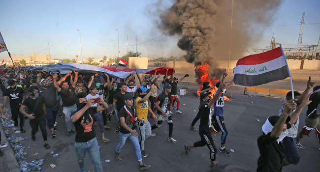 Death Toll In Iraq Protest Rises To 157