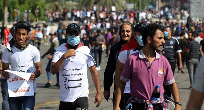Renewed Violence In Iraq Protests Kills Six