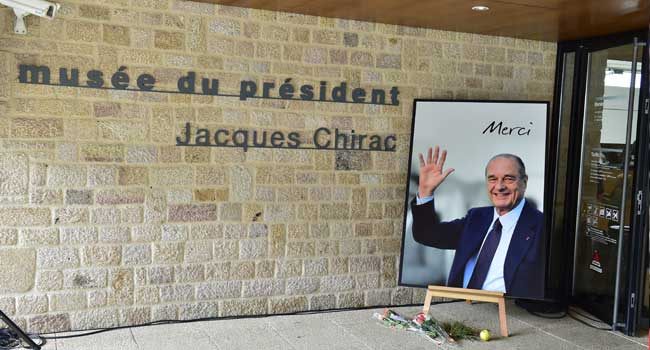 Chirac's Family Bids French Ex-President Final Farewell