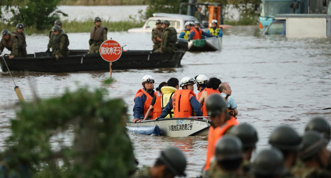 Japan Typhoon: Rescue Efforts Continue As Death Toll Tops 70