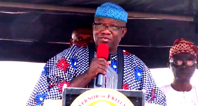 Fayemi Stuns Teachers, Announces Payment Of N30,000 Minimum Wage From October