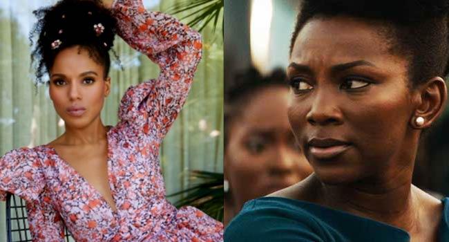 Kerry Washington Flaunts Igbo Skills, Congratulates Genevieve Nnaji On Oscars Selection