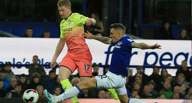 De Bruyne Sidelined With Groin Injury