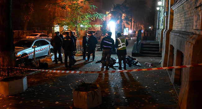 Grenade Blast Kills Two Persons In Kiev