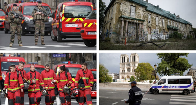 Four Police Officers Killed In Paris Stabbing, Attacker Shot Dead