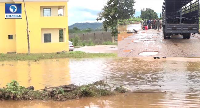 227 Inmates Escape, Over 100 Rearrested As Flood Sacks Kogi Correctional Home