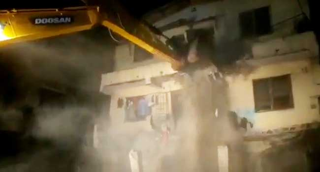 Five Rescued As Building Collapses In Lagos - Channels Television
