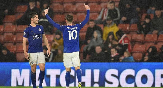 Leicester Beat 10-Man Southampton 9:0