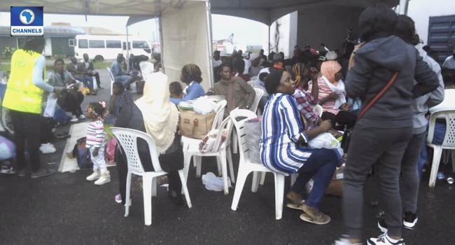 NEMA Receives 173 Nigerian Returnees From Libya