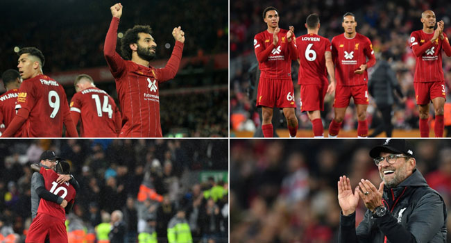 Salah Fires Liverpool To Comeback Win Over Spurs