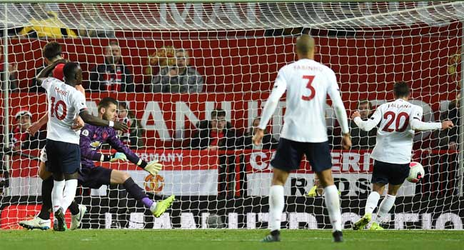 Liverpool Hold Manchester United To Draw At Old Trafford