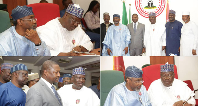 AGF Malami Meets Lawan, Gbajabiamila Over Seamless Passage Of Bills