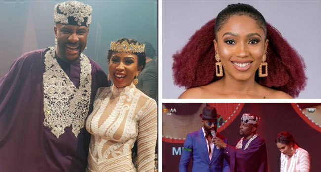 #BBNaijaFinale: 'If You Are Going Through A Lot, Just Remember Gedoni Left Mercy For Khafi – Reactions
