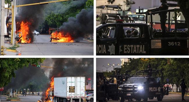 Fierce Battles In Mexico As Arrest Of El Chapo's Son Goes Wrong