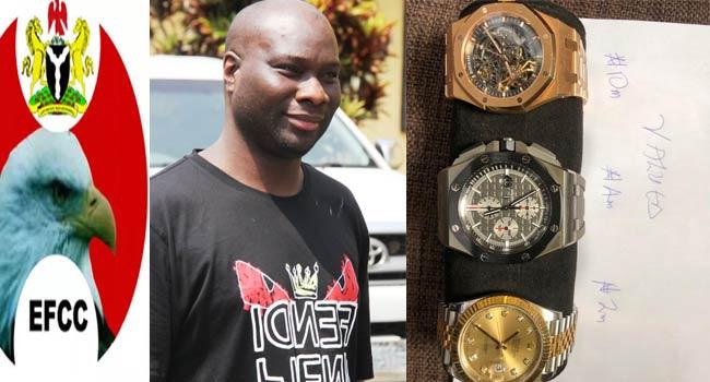 EFCC Arrests Instagram Celebrity Mompha With Wristwatches Worth N20m