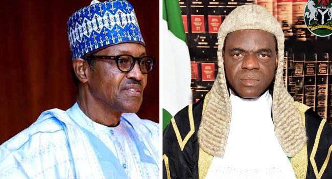 Buhari Asks Senate To Confirm John Tsoho As CJ Federal High Court