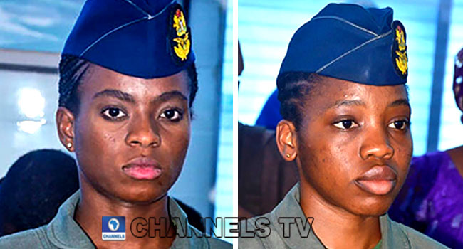 Nigerian Air Force Wings First Female Fighter And Combat Pilots, Others