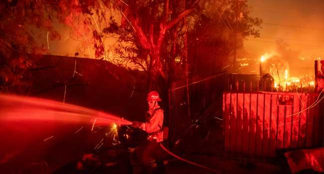 Firefighters Battle New Blazes In California