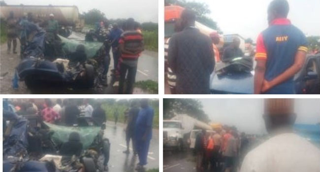 Four Niger State Workers Die As Car Crashes Along Mokwa-Batati Road