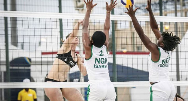 Tokyo 2020 Olympics: Nigeria's Beach Volleyball Team Optimistic Of Qualifying