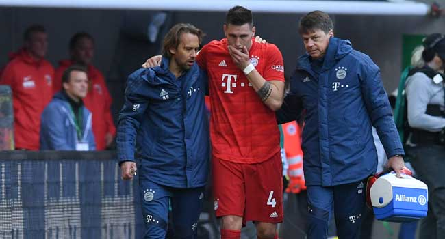 Bayern's Süle Out For Months With Knee Injury