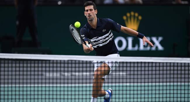 Djokovic Survives Moutet Scare To Win Paris Opener