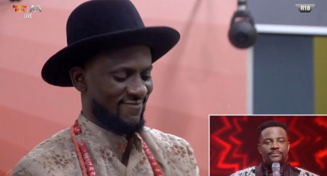 Omashola Evicted From The Big Brother House