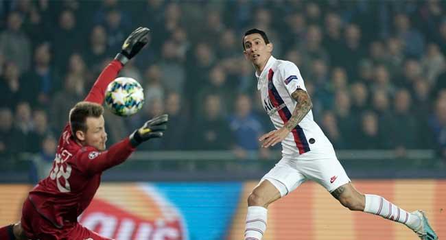 PSG Thrash Club Brugge In Champions League