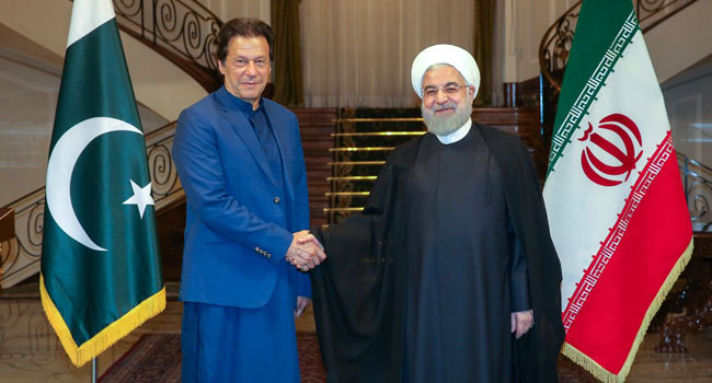 Pakistan's Khan Visits Iran As Tensions Rise In Gulf