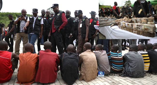 Police Parade 81 Suspected Kidnappers, Robbers, Recover N10m Ransom