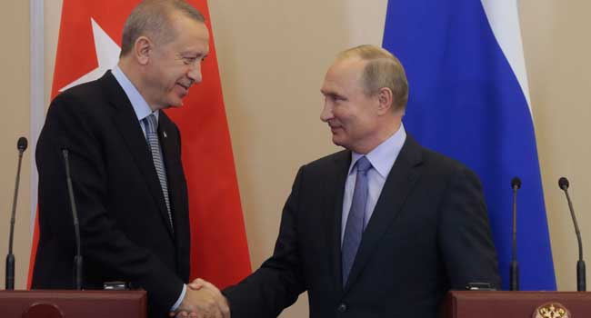 Russia, Turkey Strike Deal On Syria Border