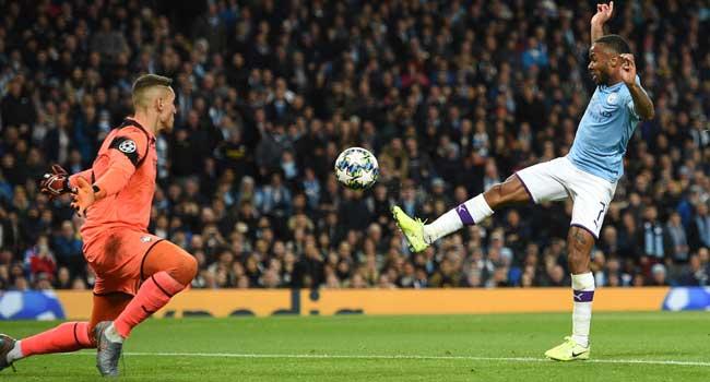 Champions League: Sterling Shines As Man City Humiliate Atalanta